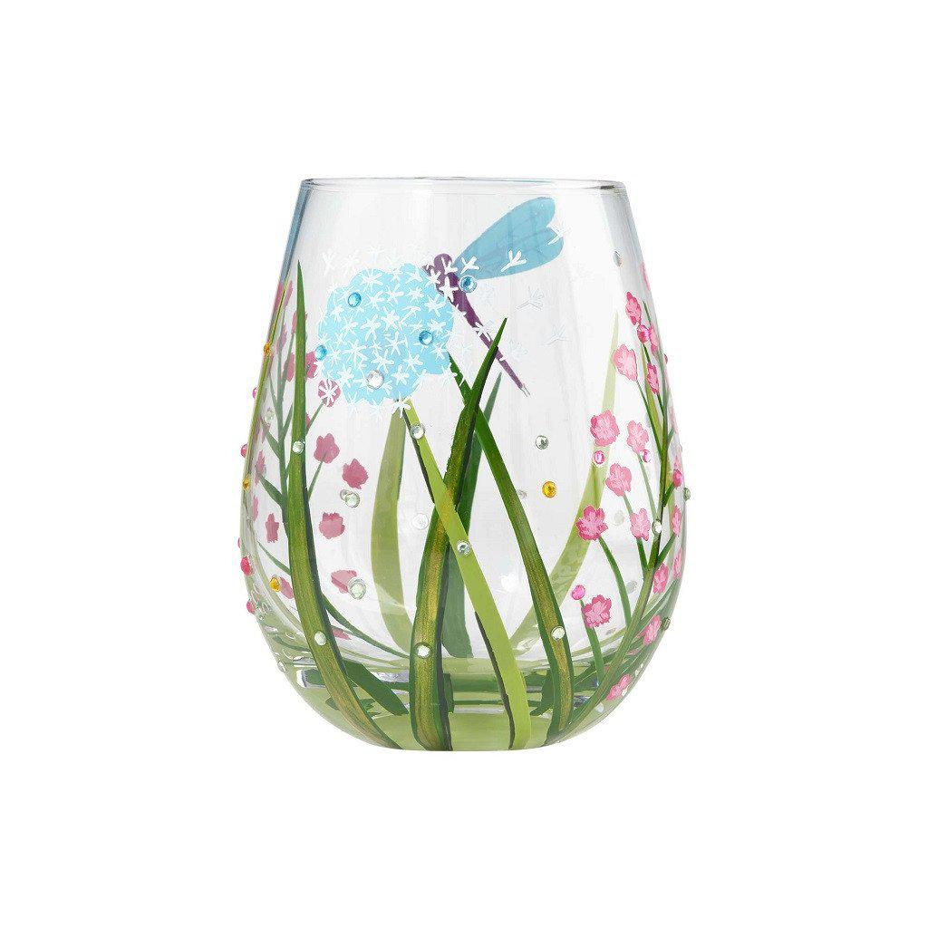 Dragonfly Stemless Wine Glass by Lolita®-Lolita Wine Glasses.com
