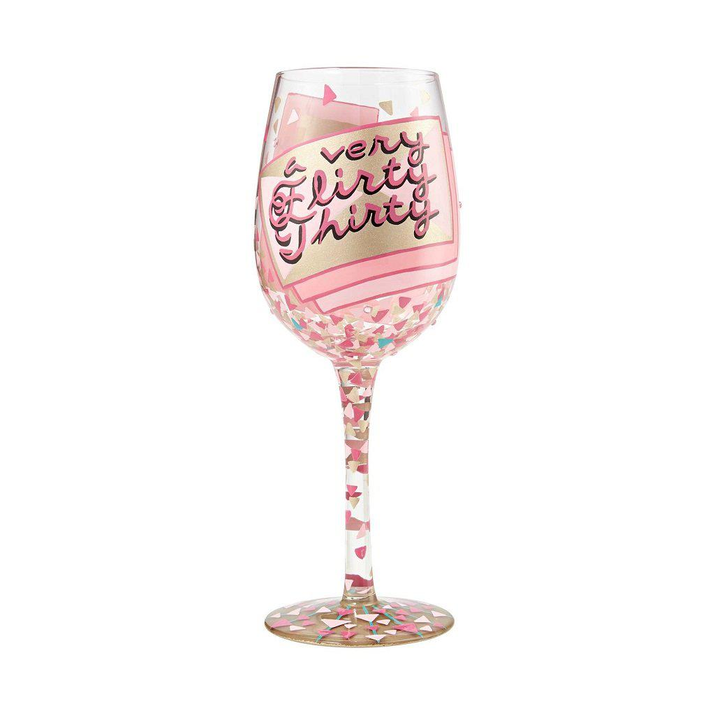 30th Birthday Wine Glass by Lolita®-Lolita Wine Glasses.com