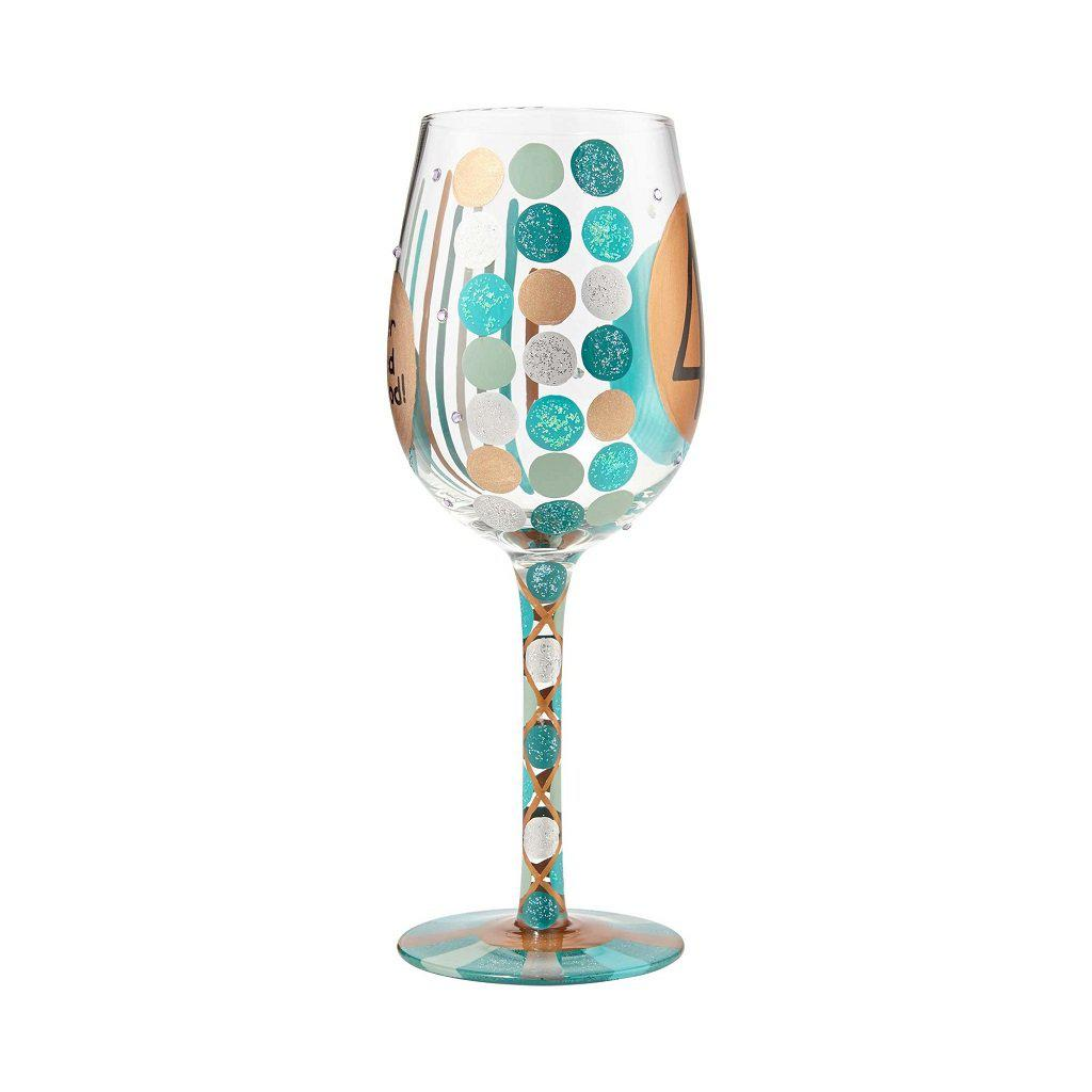 40th Birthday Wine Glass by Lolita®-Lolita Wine Glasses.com