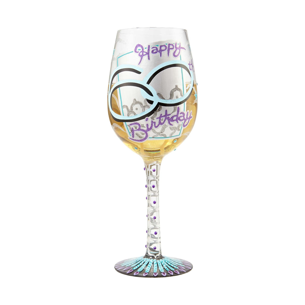 60th Birthday Wine Glass by Lolita®