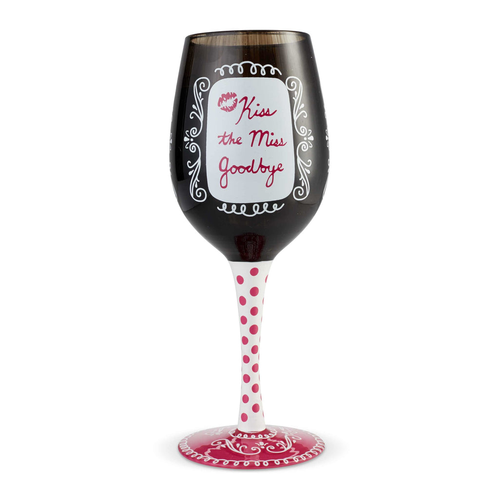 Bachelorette Wine Glass by Lolita®