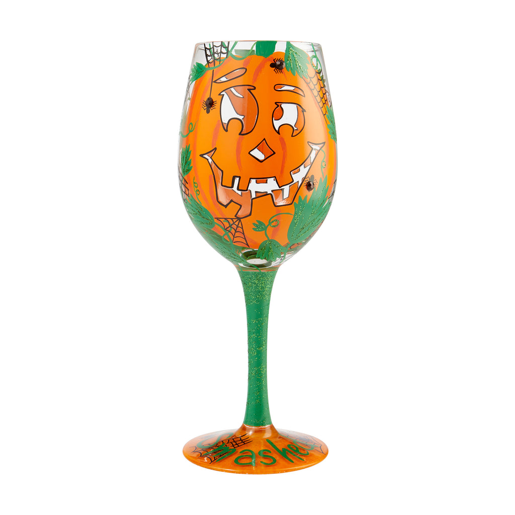 Get Smashed Wine Glass by Lolita®