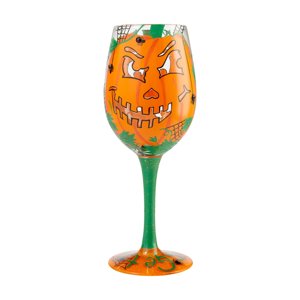 Get Smashed Halloween Wine Glass by Lolita®