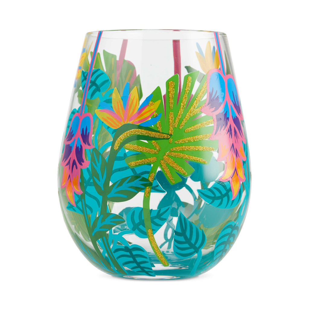 Tropical Vibes Stemless Wine Glass by Lolita®
