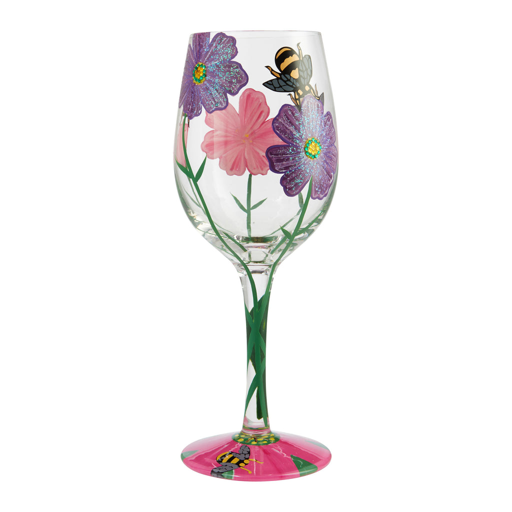My Drinking Garden Wine Glass by Lolita®