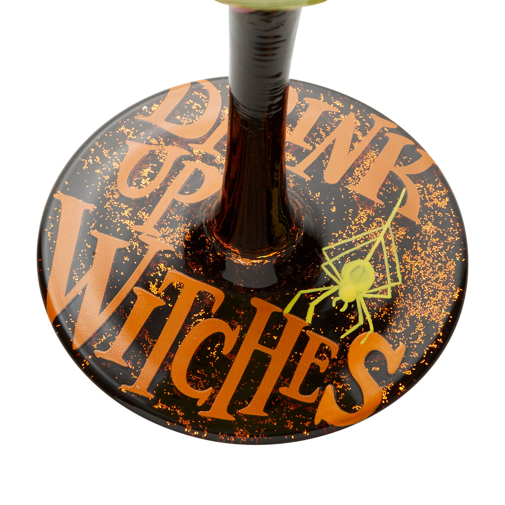 Drink Up Witches Wine Glass by Lolita®