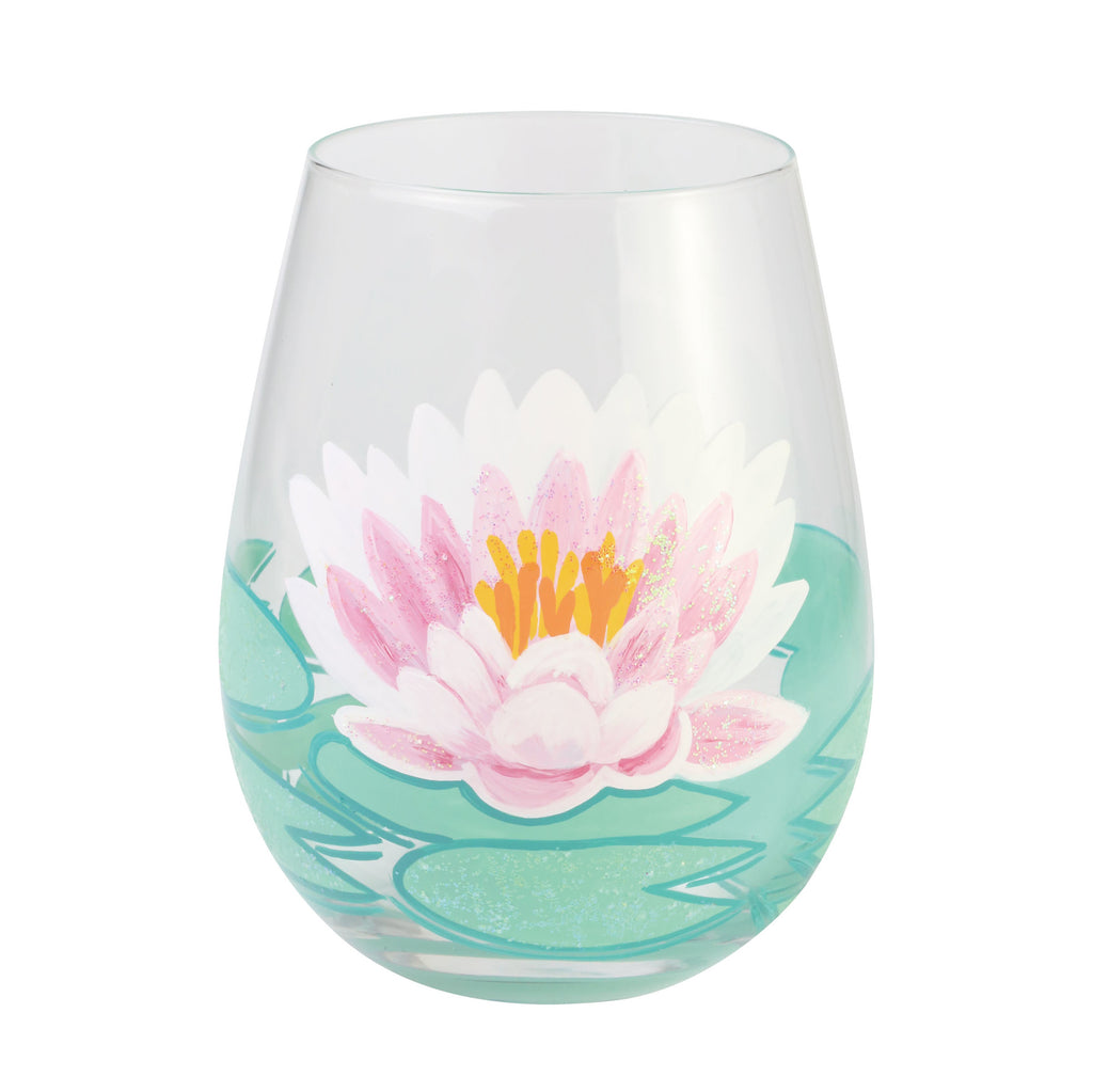 Lotus Stemless Wine Glass by Lolita®
