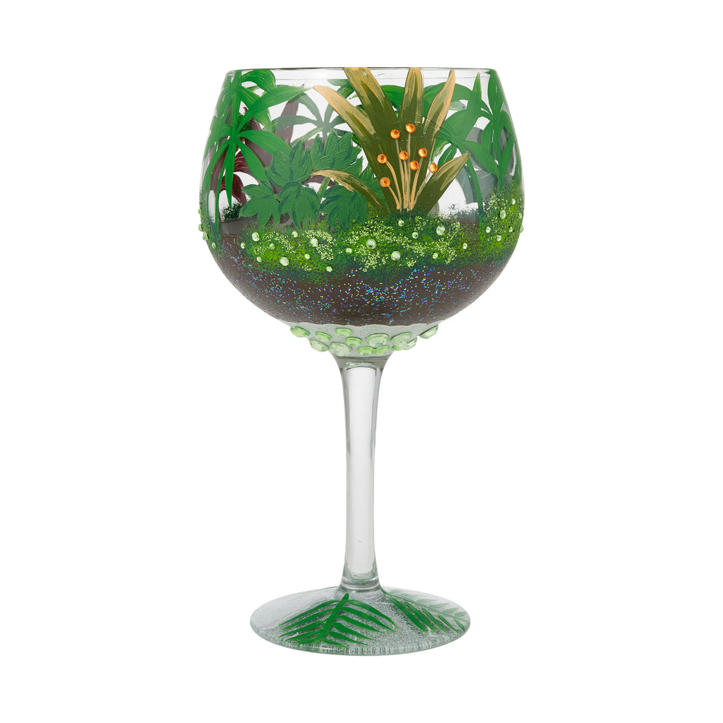 Jungle Terrarium Copa Glass by Lolita®