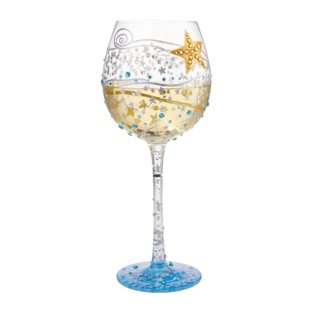 You're The Brightest Star Super Bling Wine Glass by Lolita®