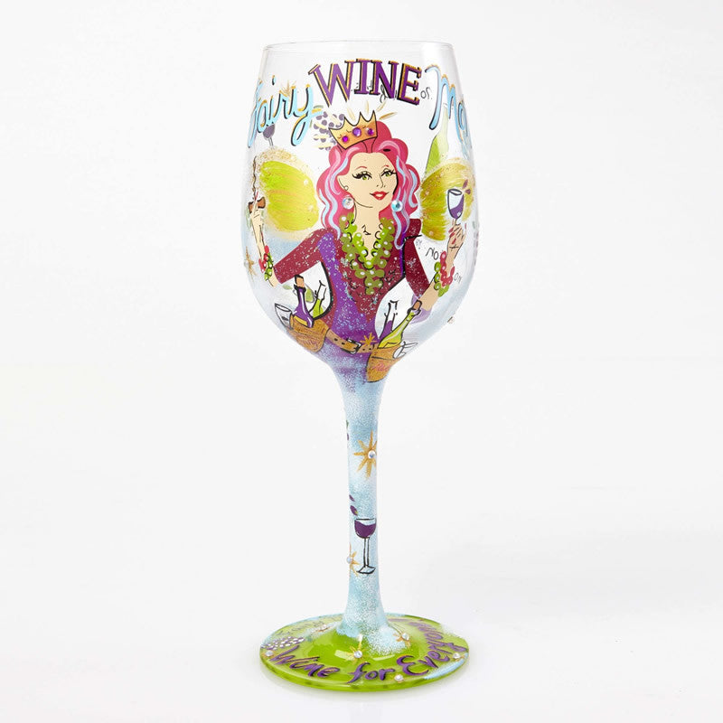 Fairy Wine Mother Wine Glass by Lolita®