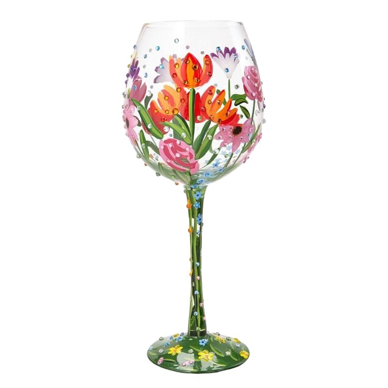 Spring Bling Super Bling Wine Glass by Lolita®