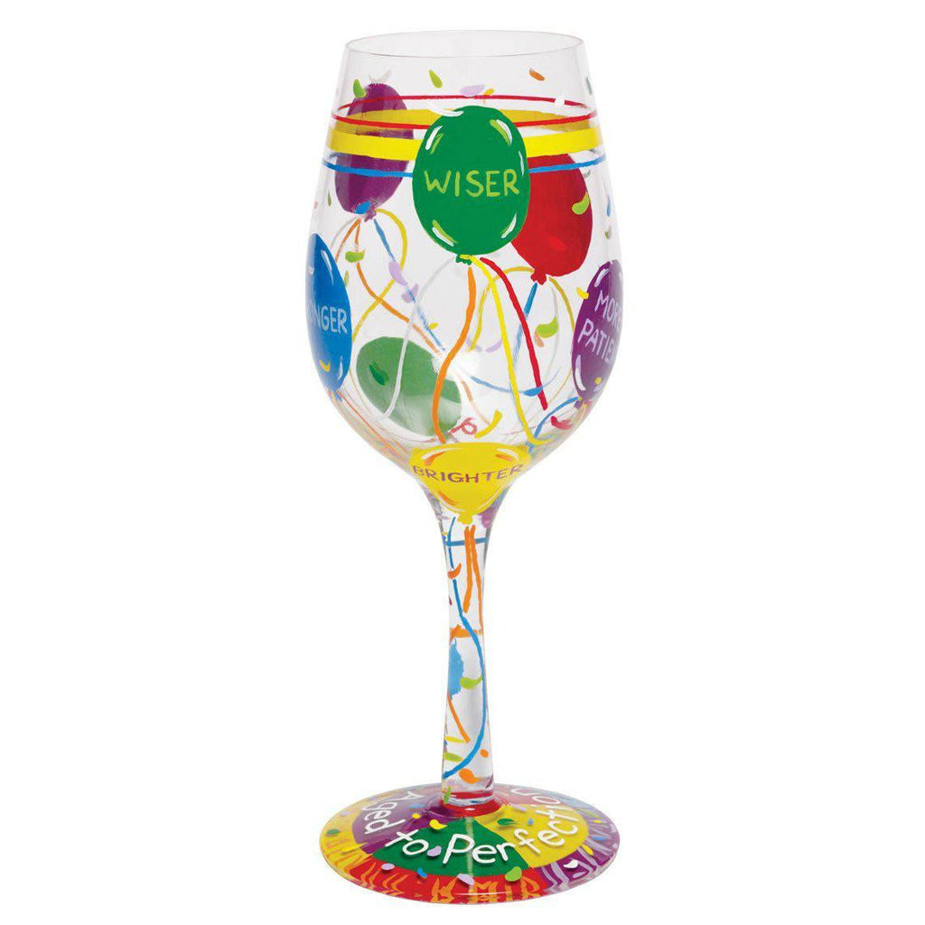 Aged to Perfection Wine Glass by Lolita®