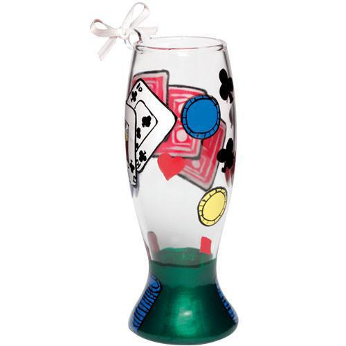 Poker Mini Pilsner Ornament by Lolita®