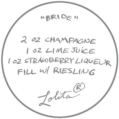 Bride Wine Glass by Lolita®