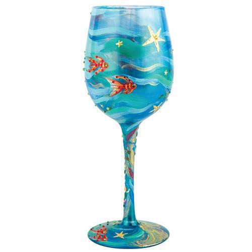 Mermaid Wine Glass by Lolita®