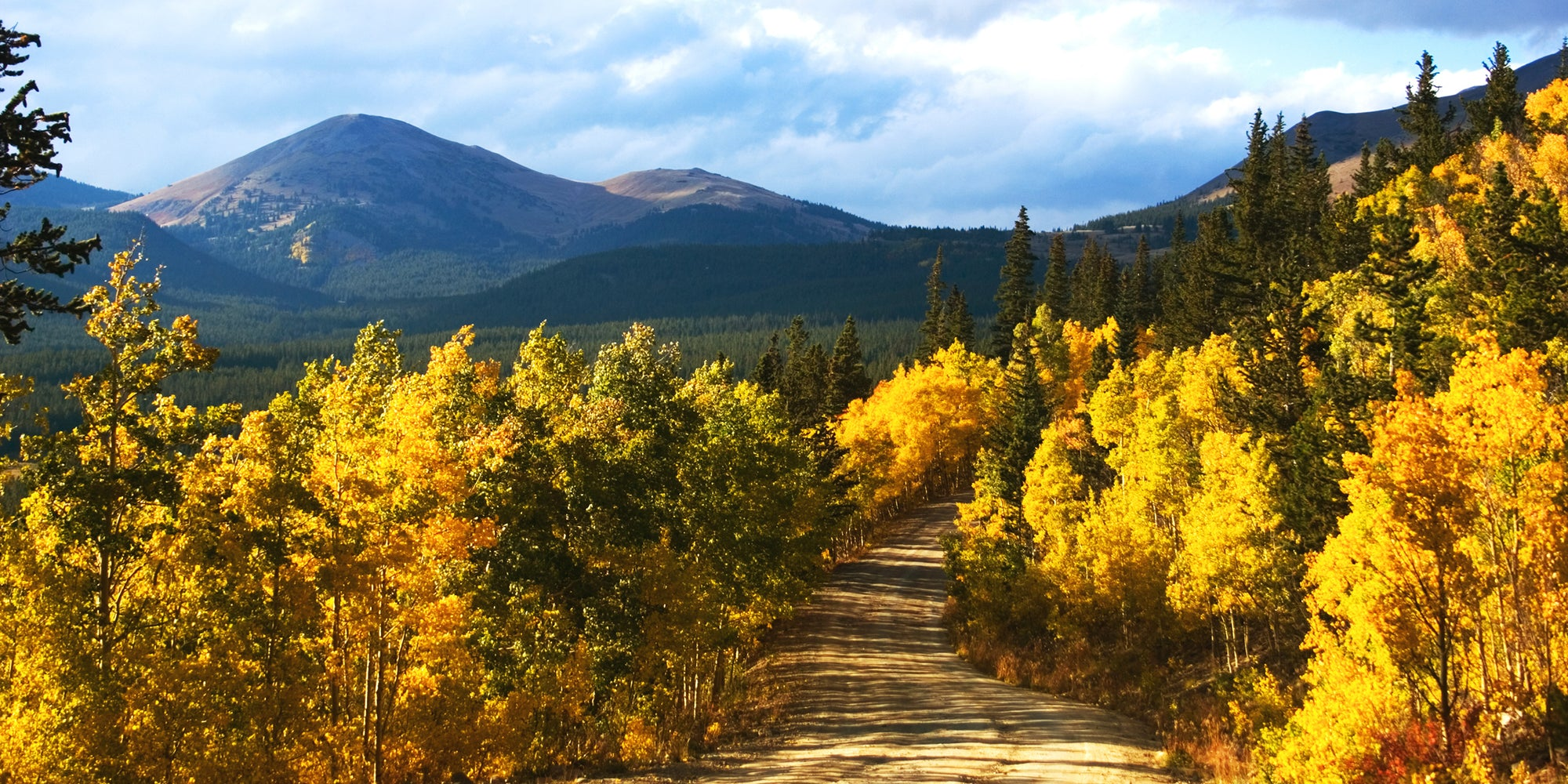 Boreas Pass in Breckenridge, Colorado