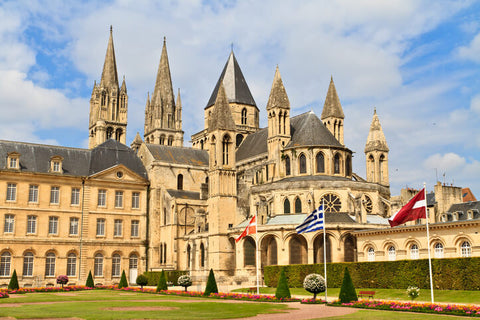 Abbaye aux hommes in Caen, Normandy