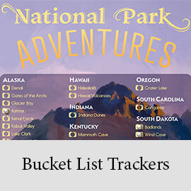 Bucket List Trackers