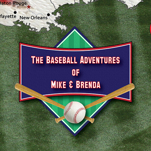 Personalized Example Baseball Adventures