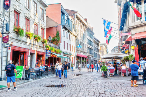 Historic Old Montreal, Quebec, Canada