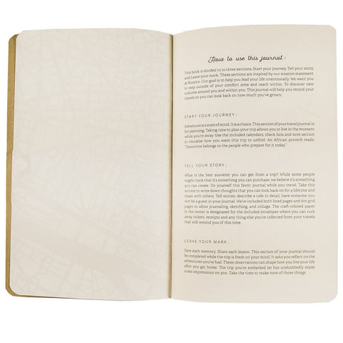 How To Use Leather Travel Journal