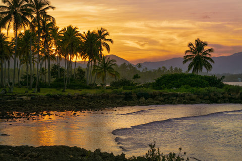 Sunset in Las Galeras