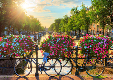 UNESCO world heritage canals of Amsterdam, The Netherlands