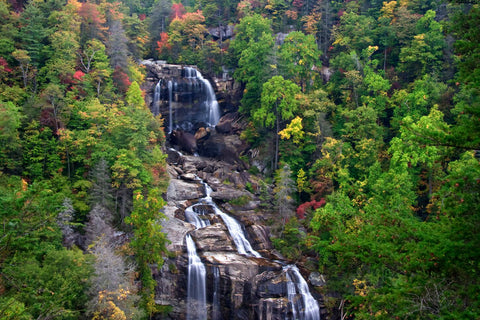 Whitewater Falls Upper Portion
