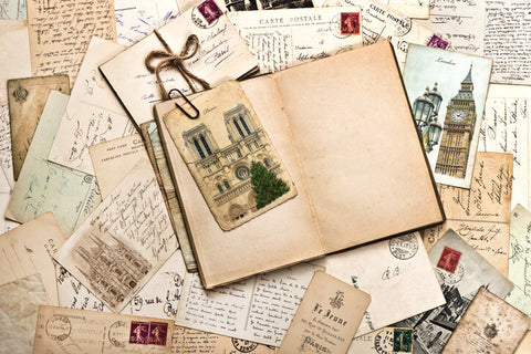 Save a Postcard in Travel Journal