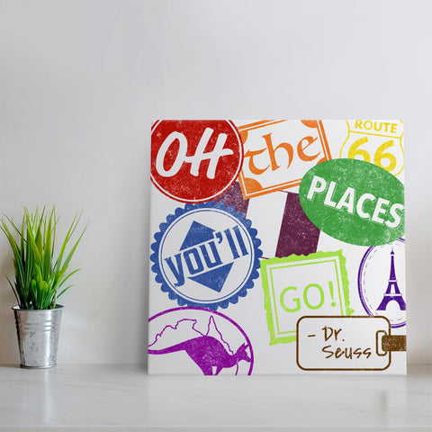 Oh, the Places You'll Go! Travel Canvas Art