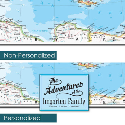 Comparison of Personalized and Non-personalized area