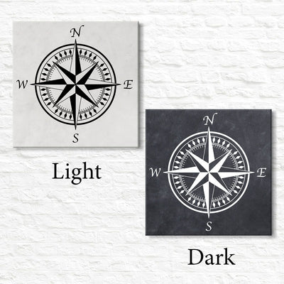 Compass Rose - All Options - Travel Home Decor