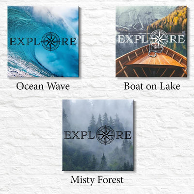 Explore - Travel Decor - All Options