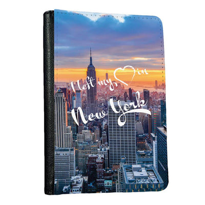 I left my heart in New York passport holder