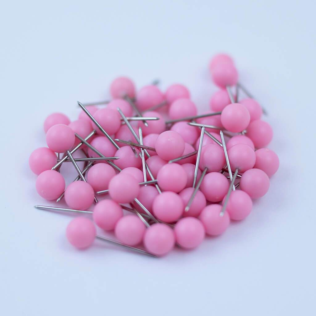Light Pink Map Pins