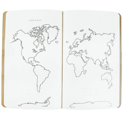 Travel Journal Map