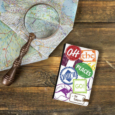"""Oh, the Places You'll Go!"" – Signs Passport Cover"