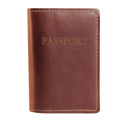 Saddle Passport Holder