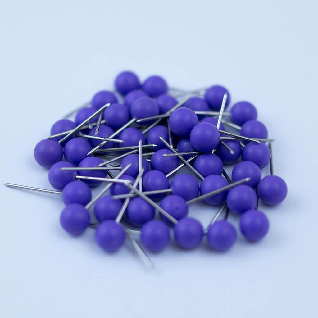 Purple Map Pins