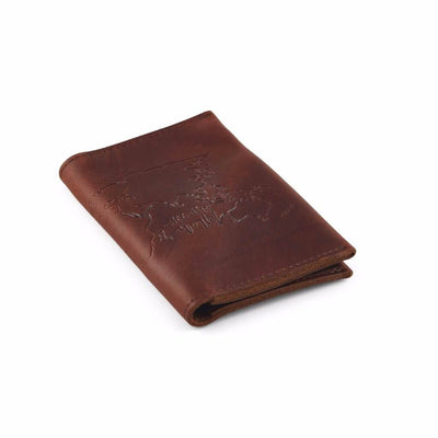 Saddle Premium Cow Hide Travel Wallet