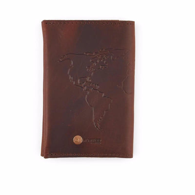 Saddle Leather Travel Wallet