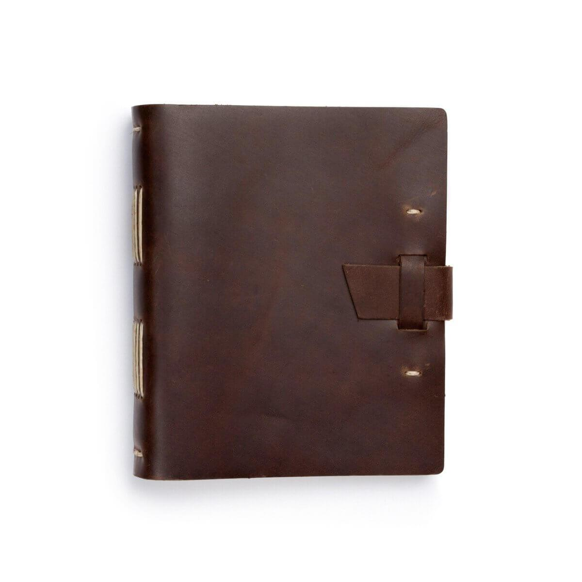 Brown Traveler Leather Journal