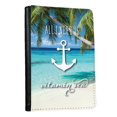 All I Need is Vitamin Sea Passport Protector