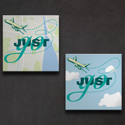 Just Go - Travel Art - All Options