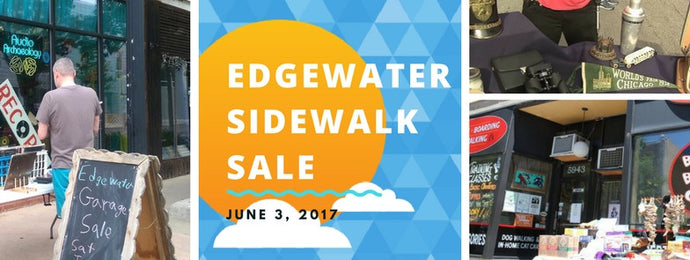 Our Granville Location will Participate in the Edgewater Sidewalk Sale 2017