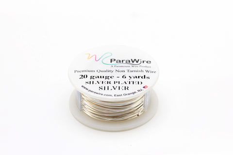 20 Gauge Silver Plated Wire