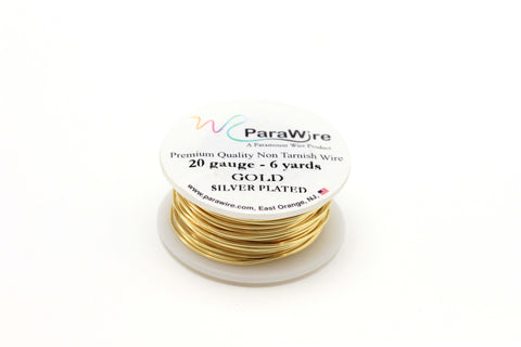 20 Gauge Gold Plated Wire