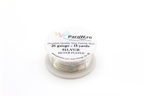 26 Gauge Silver Plated Wire