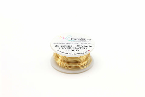 26 Gauge Gold Plated Wire