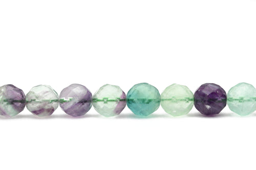 Faceted Fluorite Strand
